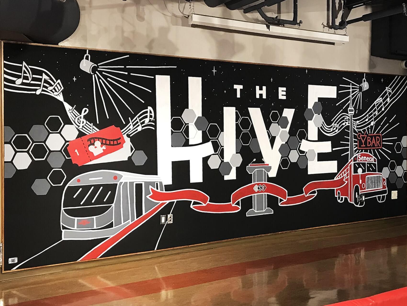school art mural, toronto