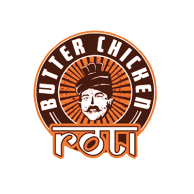 butter chicken roti