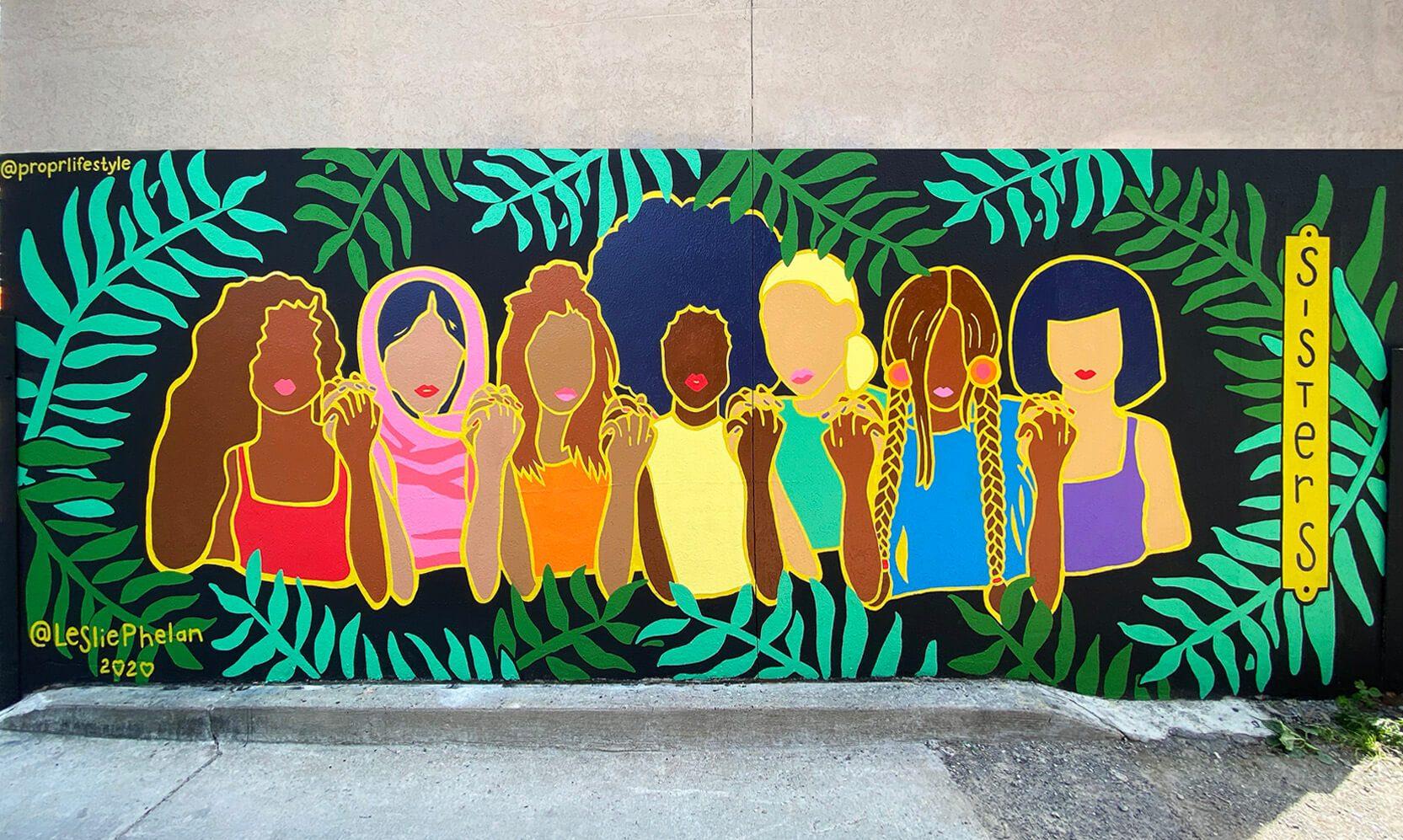 custom mural street art
